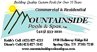 Commercial & Residential Swimming Pool Builders in Knoxville TN